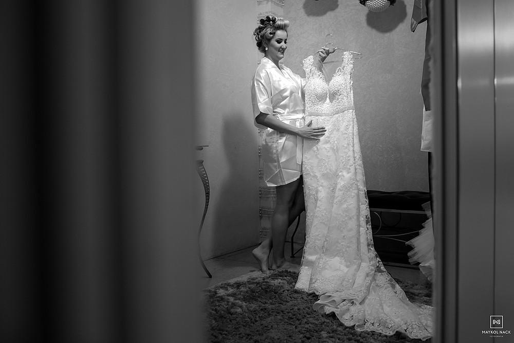 vestido de noiva armazém