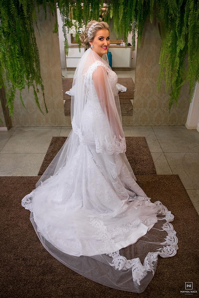 vestido de casamento armazém