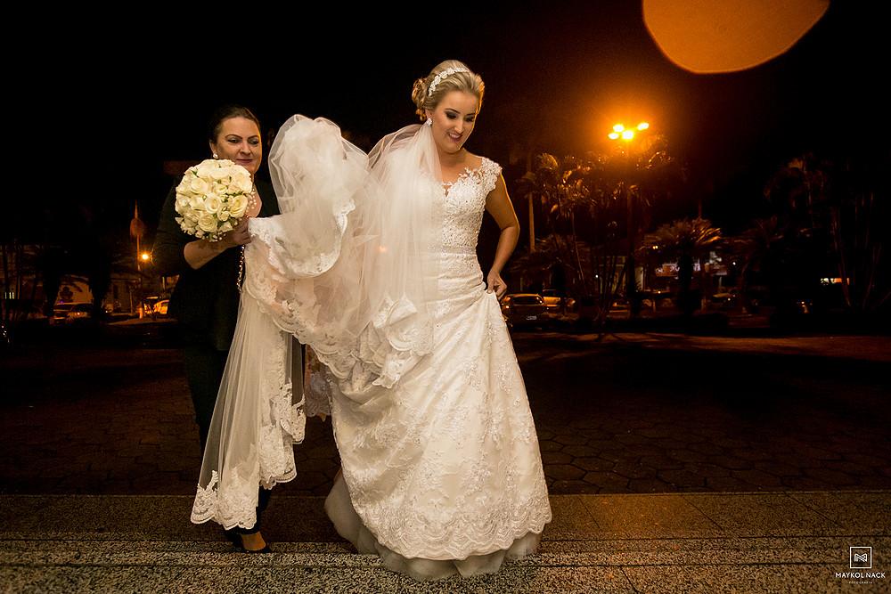 cerimonial de casamento de armazém
