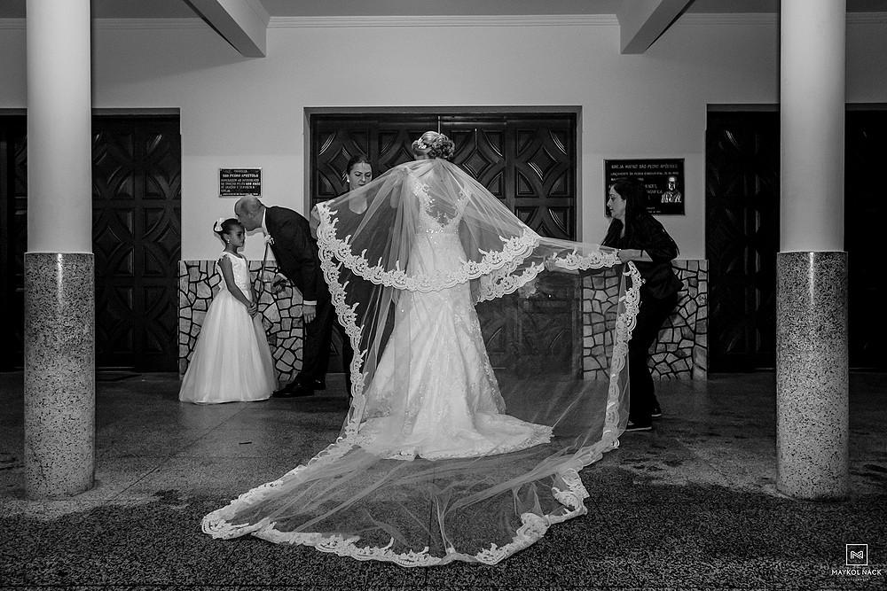 vestido de noiva em armazém
