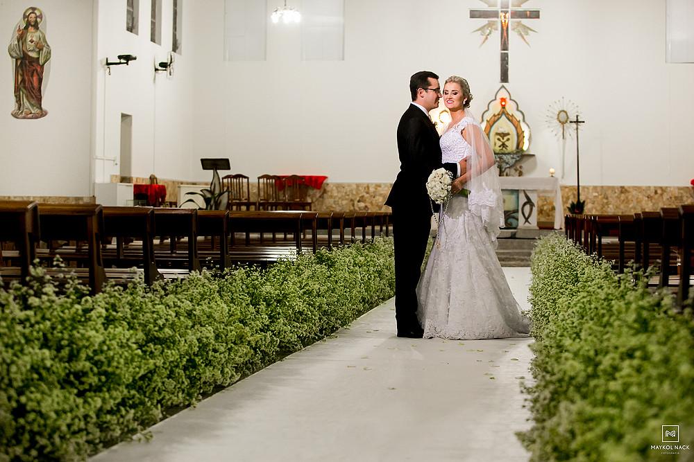 decoração casamento em armazém