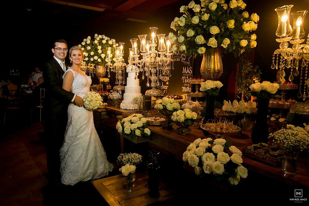 mesa de doces casamento armazém