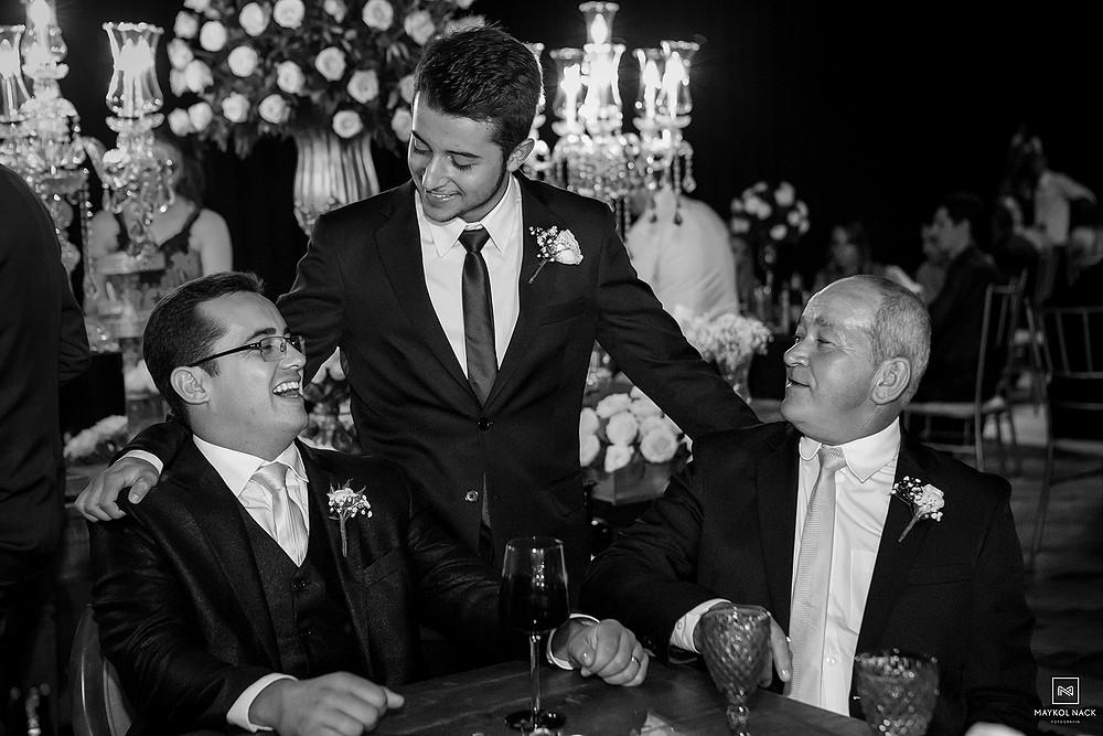 mesa de noivos casamento