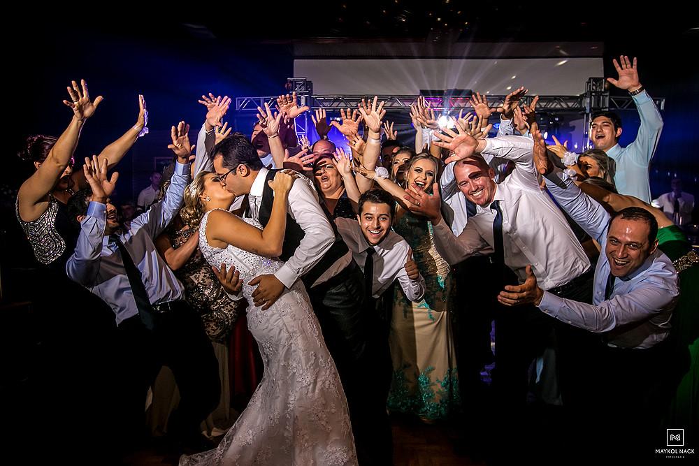 dança com padrinhos de casamento