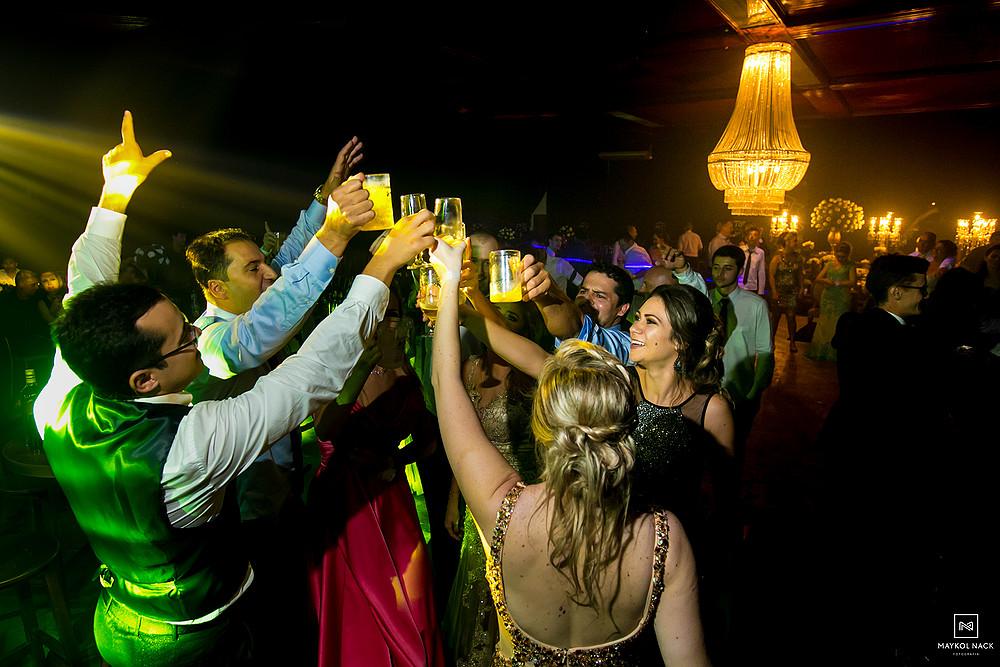 festa casamento armazém