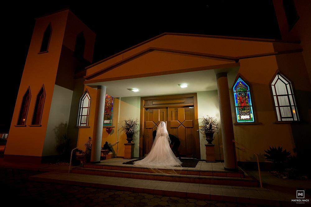 entrada da noiva casamento tubarão