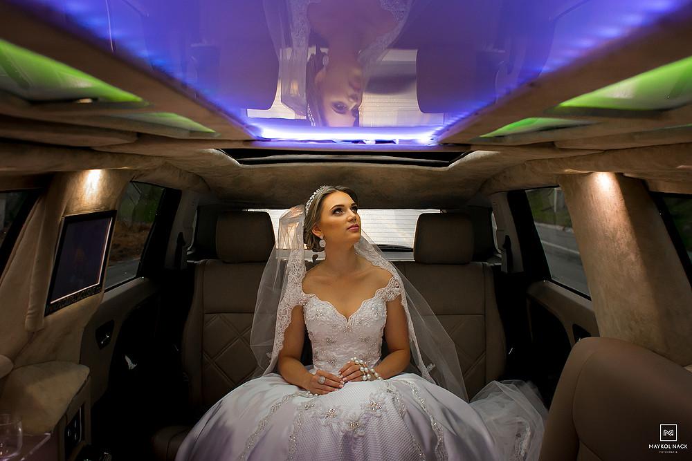 limousine casamento tubarão