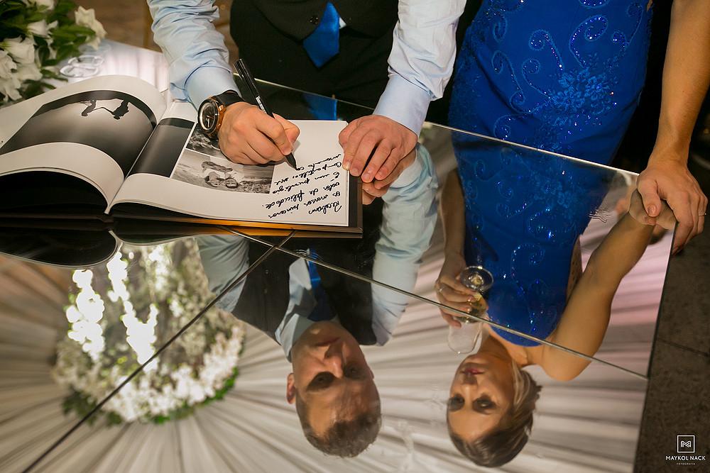 livro de assinaturas casamento