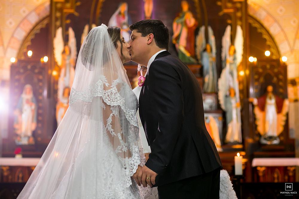 beijo de casado braço do norte