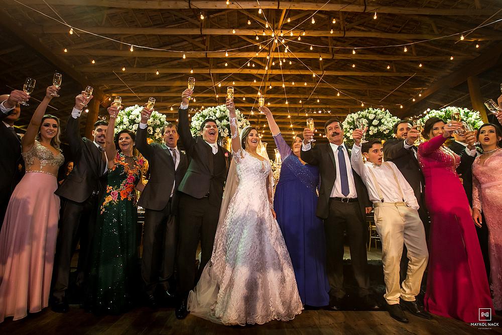 casamento no ctg em braço do norte