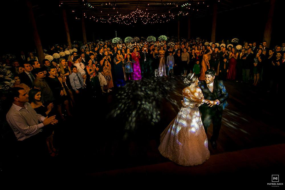 dança dos noivos braço do norte