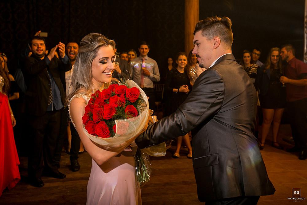 pedido de casamento no casamento