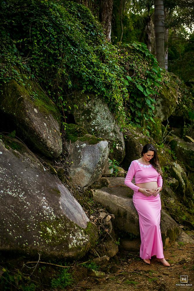 sessão de fotos gravidez braço do norte