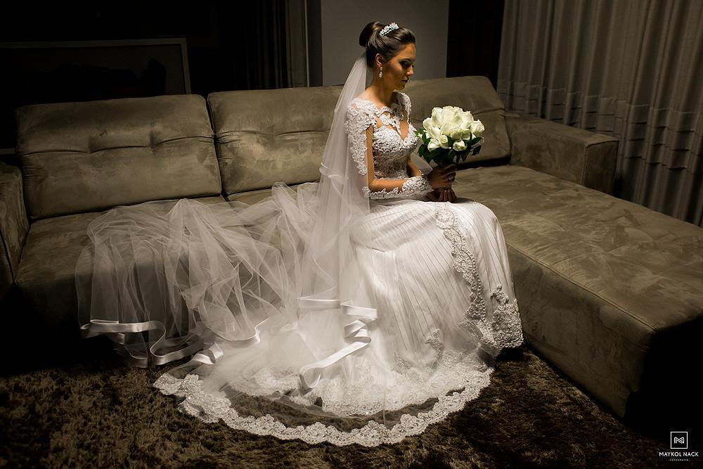 vestido para casamento braço do norte