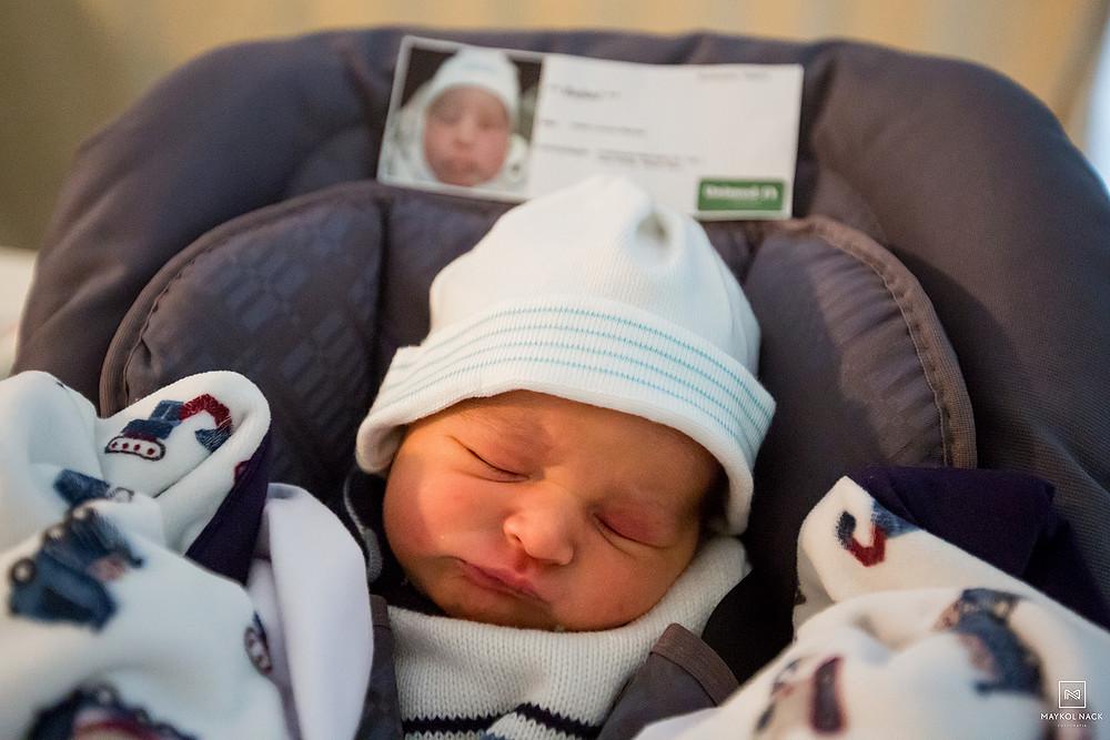 fotografia de bebe recem-nascido