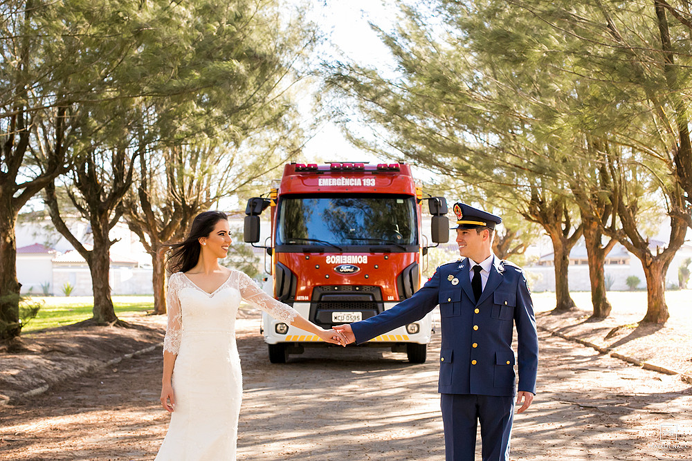 book casal bombeiro