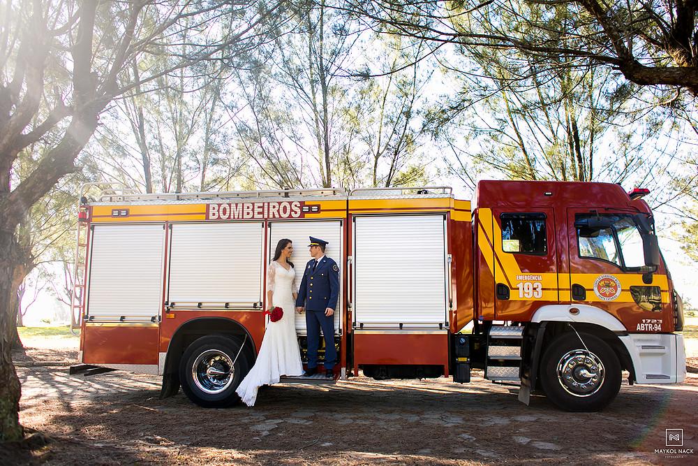 bombeiro militar casamento