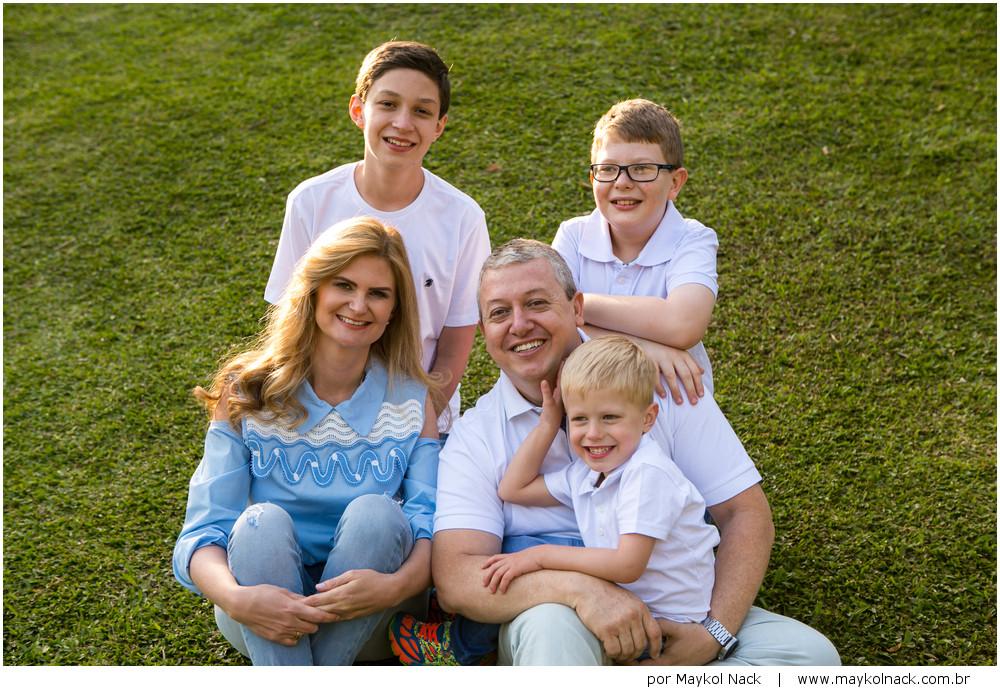 fotos de família durante o dia