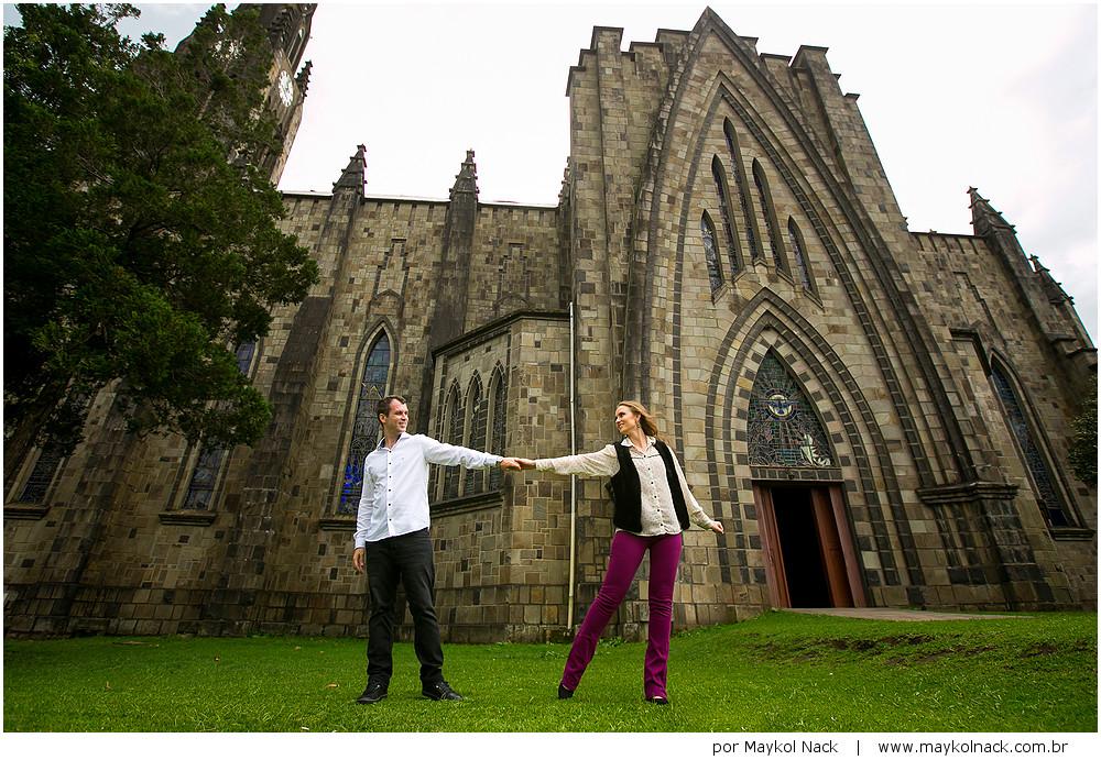 fotos de casal igreja canela