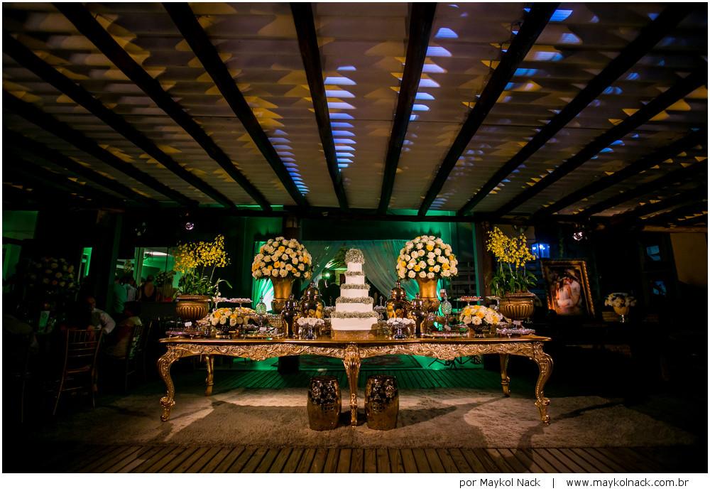 decoração de casamento em içara