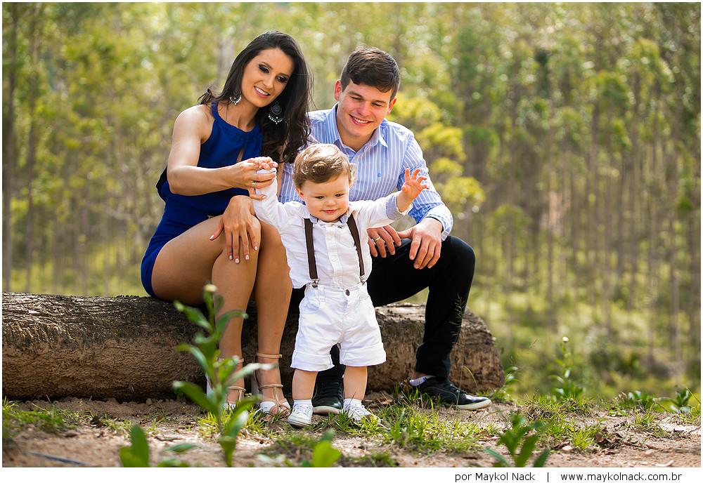 sessão de fotos com filho