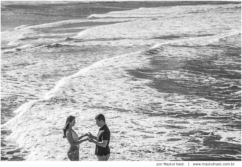 ensaio na praia da tereza