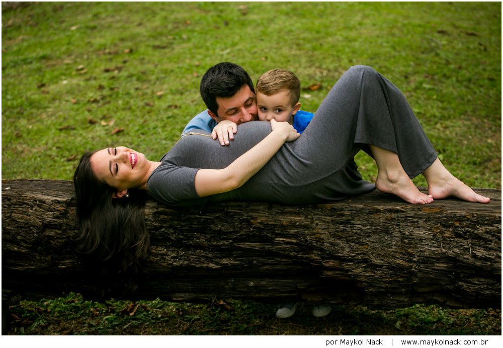 gravidez em família