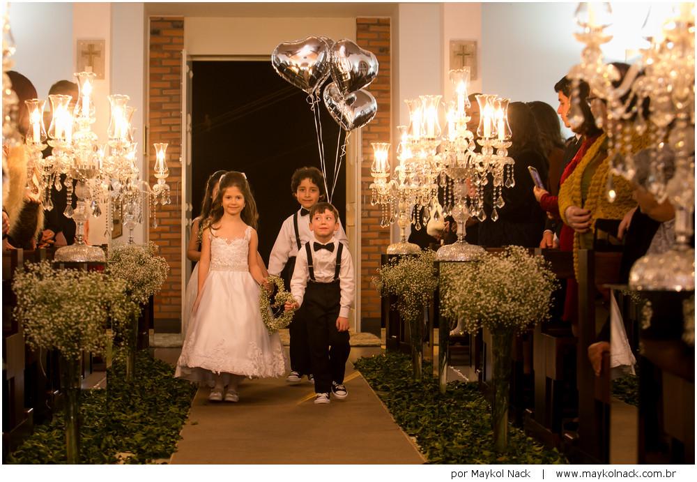 noivinhos em casamento
