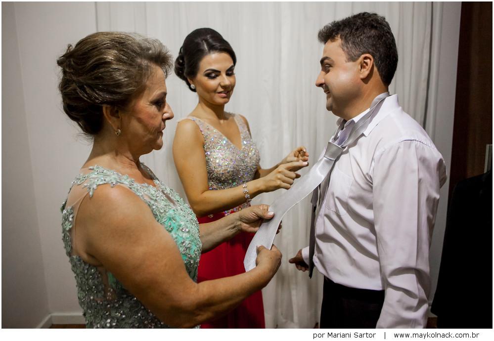 preparativos do noivo