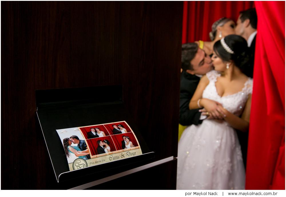 foto cabine casamento