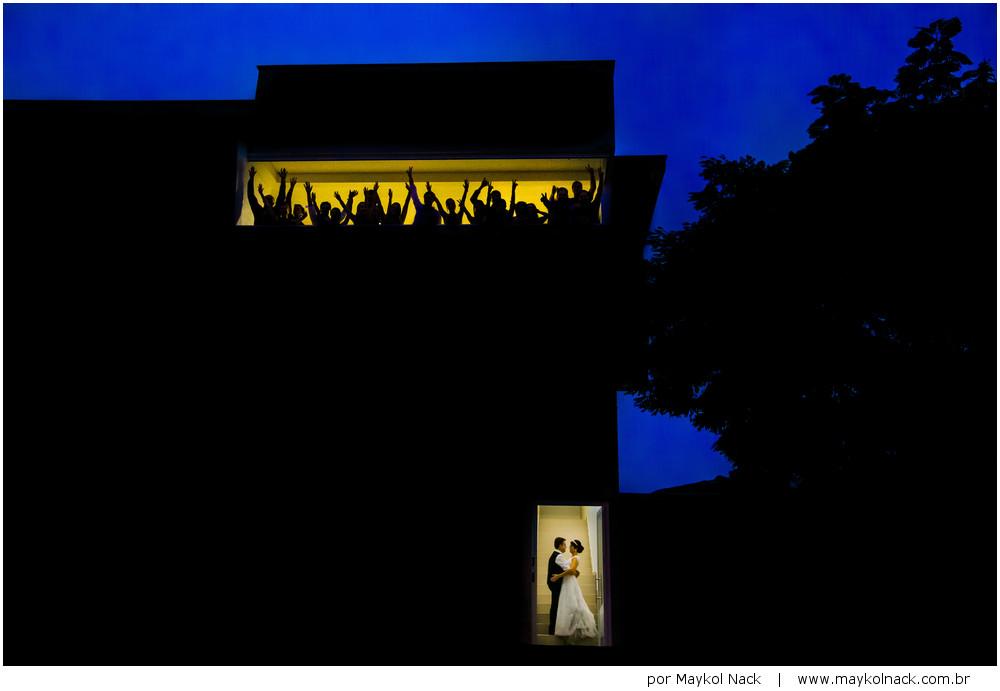 festa na casa dos noivos