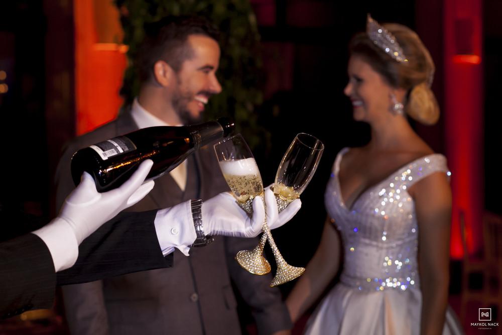 brinde dos noivos nova veneza