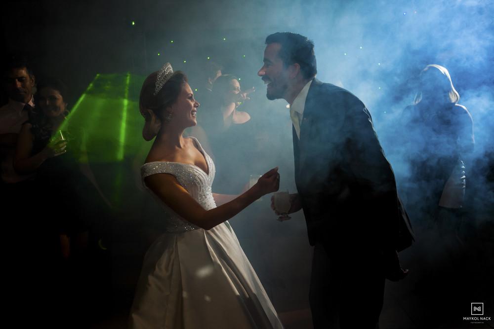 festa de noivos de casamento
