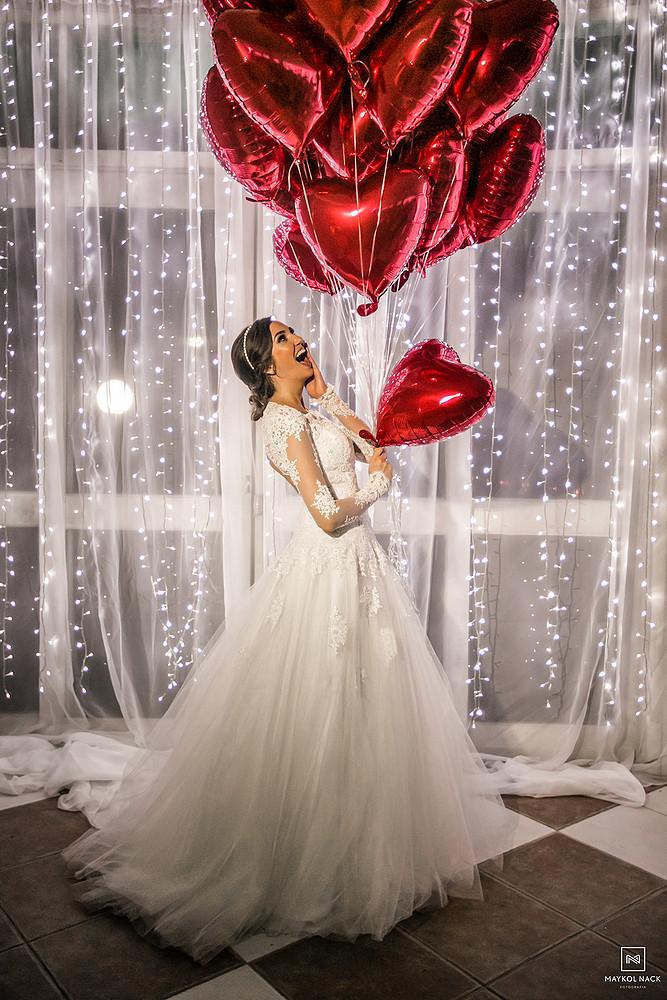 vestido de noiva em laguna