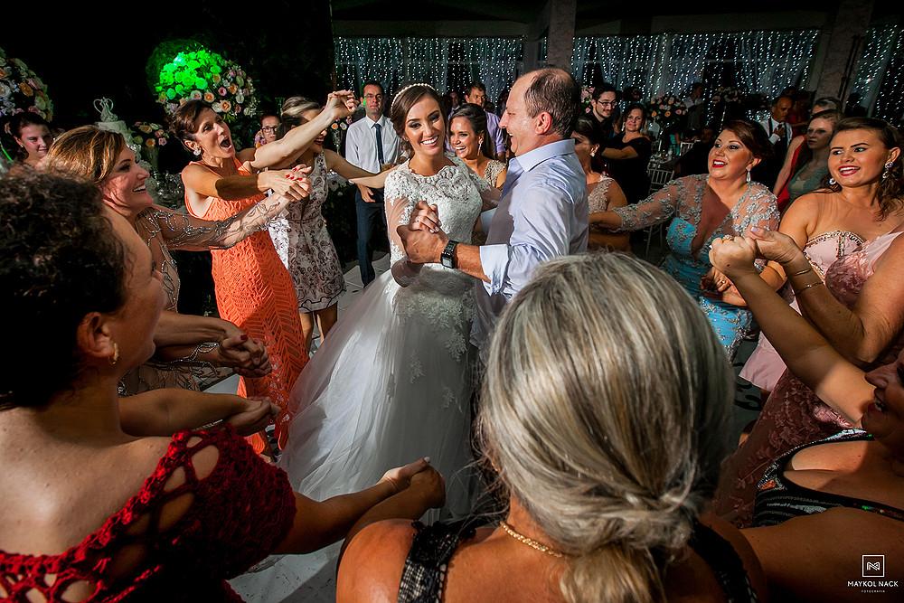 festa de noivos em laguna