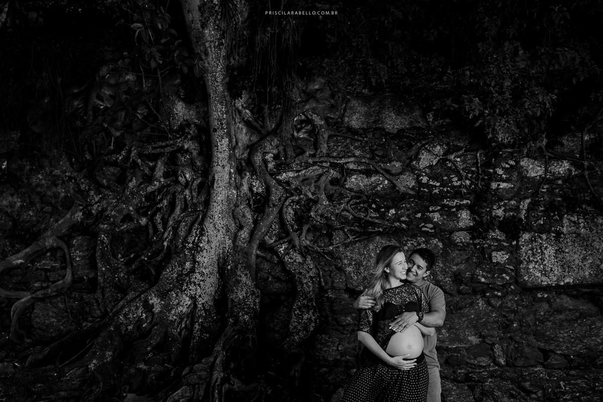 fotografia de familia, gravidez, gestacao, familia, retrato, amor, priscila rabello, preto e branco, pb,