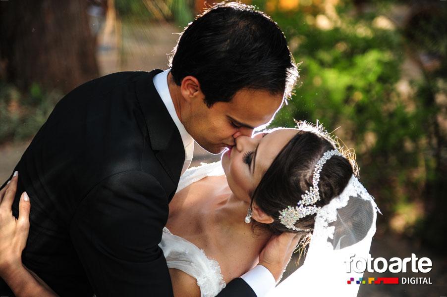 O beijo, demonstração de amor.
