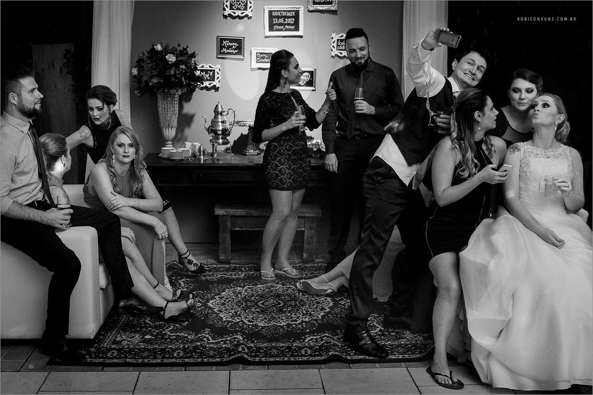 foto diferente de casamento