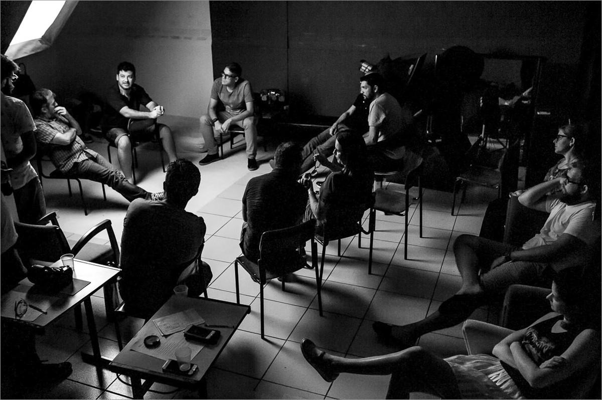 workshop perseguindo fotografias verdadeiras com nei bernardes e robison kunz - reunião para divisão das missões
