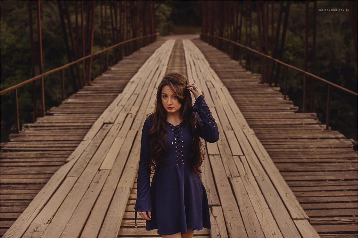 fotos diferentes na ponte de ferro do passo do inferno