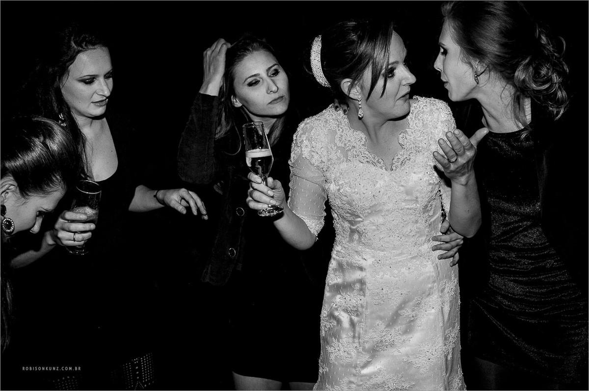 foto diferente de festa de casamento