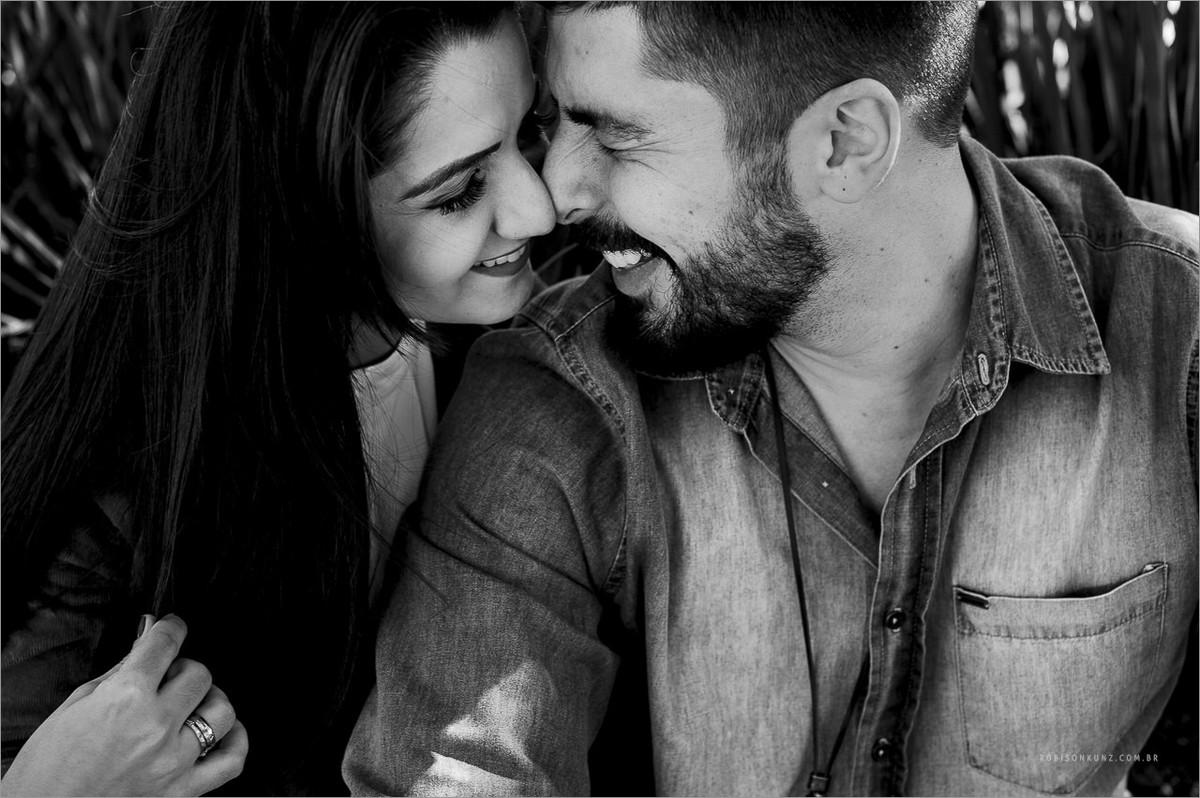 fotografia de casal com emoção
