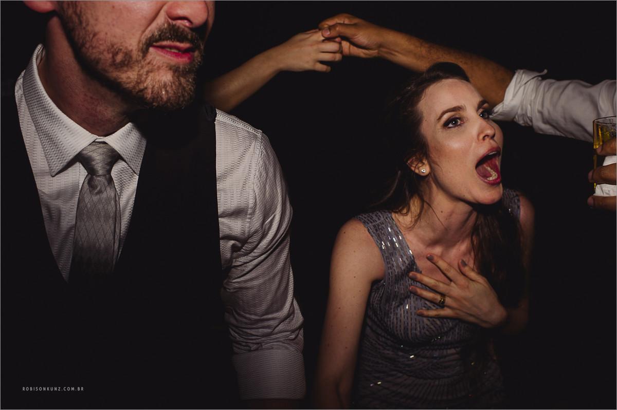 trenzinho no casamento