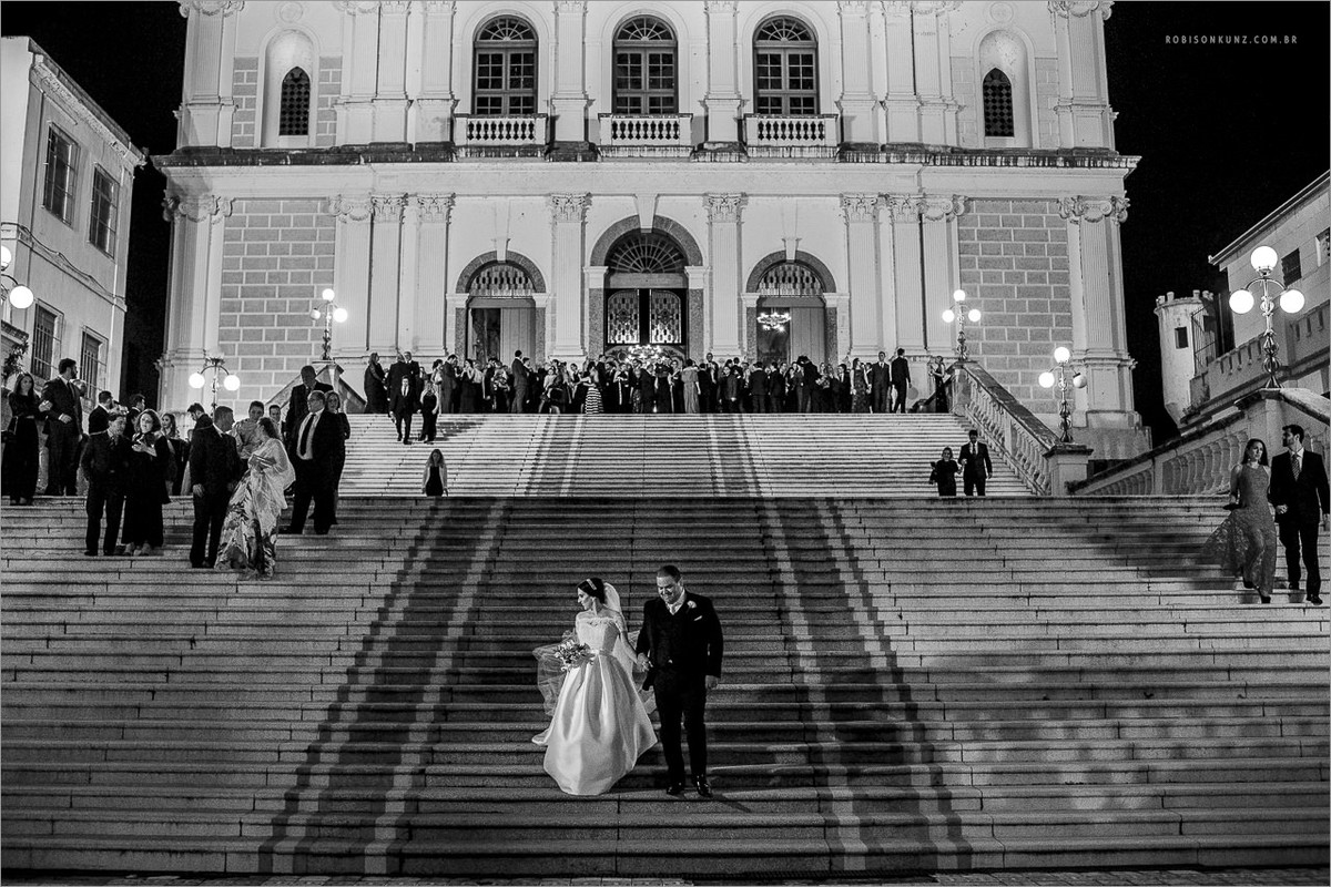 saida dos noivos na igreja das dores porto alegre