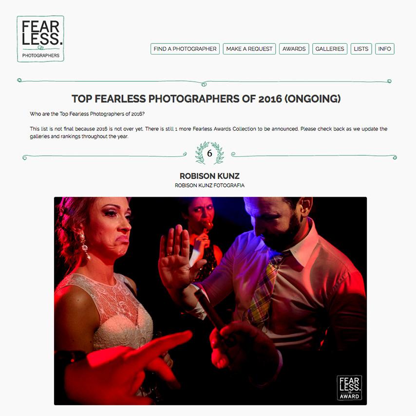 robison kunz entre os melhores fotografos de casamento do mundo