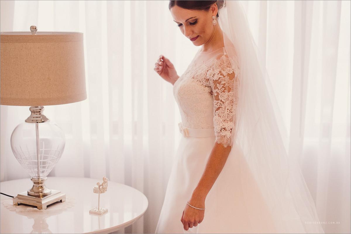 foto da noiva pronta