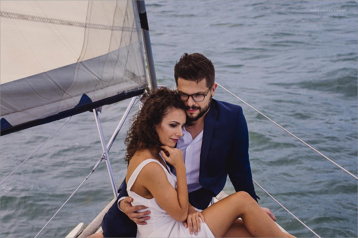 fotos de noivos com veleiro