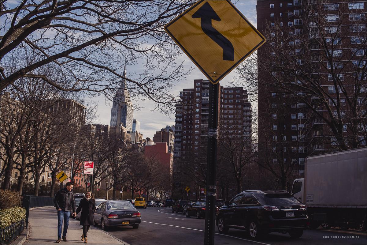 ensaio de noivos em nova york