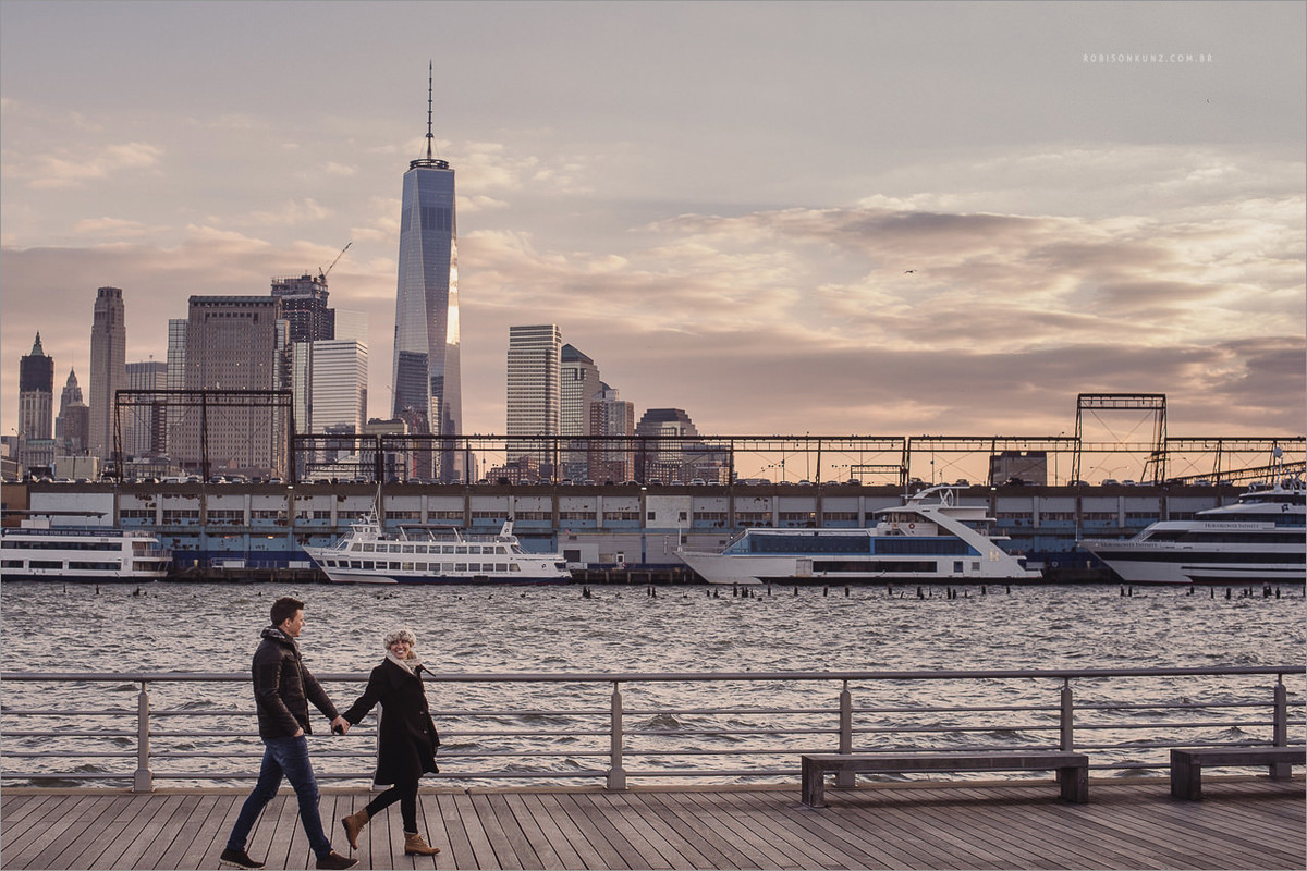 ensaio de casal do brasil em nova york