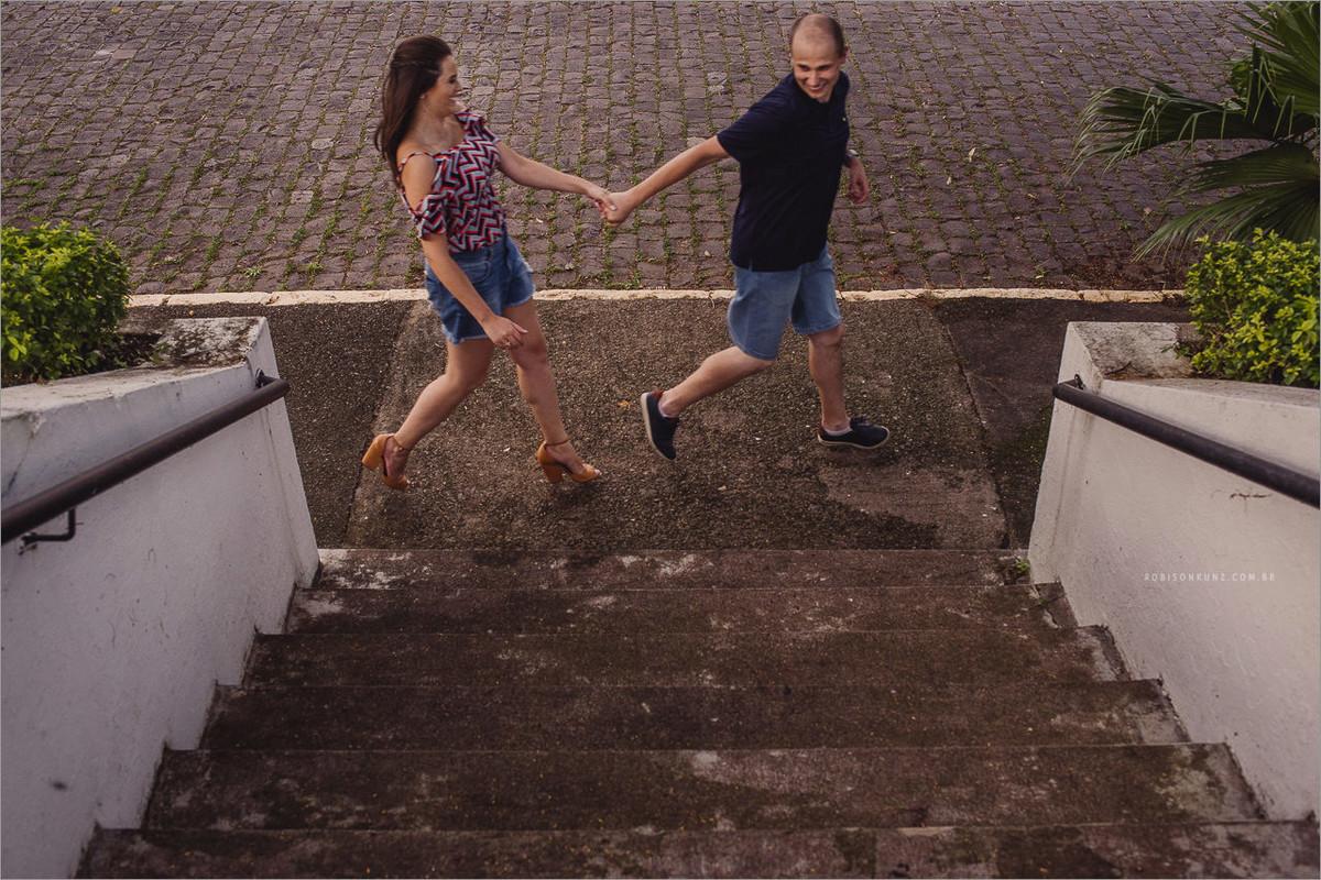 casal correndo